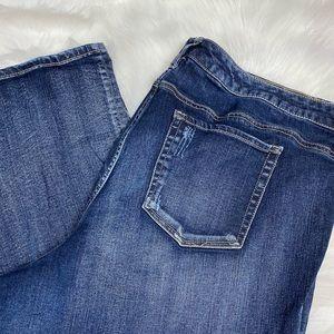 torrid Jeans - Torrid Bootcut Distressed Medium Wash Jeans